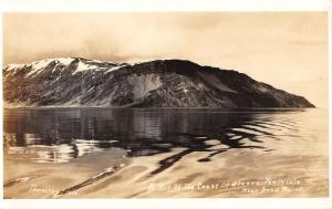 Sand Point Alaska Waterfront Real Photo Antique Postcard K83142