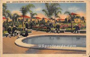 Ingram Plaza, US Naval Training Station