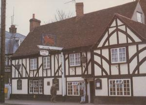 Witham The Red Lion Pub Essex Musicrafts Shop Limited Edition Rare Postcard