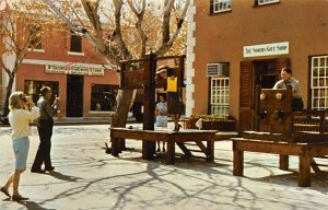 The Stocks and Pillory in King's Square St. George's Bermuda Unused