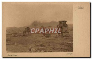 Postcard Old Dieng Plateau Indonesia