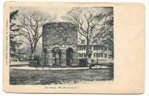 Old Stone Mill, Newport, Rhode Island, pre-1907