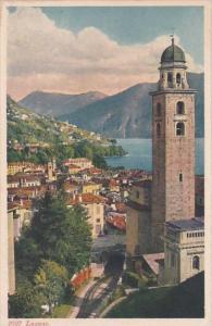 Switzerland Lugano Totalansicht