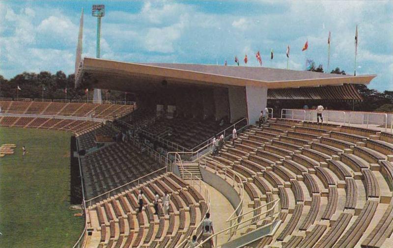 Merdeka Stadium , Kuala Lumpur , Malaya (interior) , 40-50s