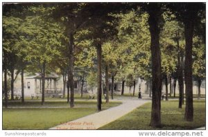 Lafayetet Park Three Rivers Michigan 1916