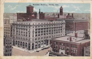 Brandeis Building, Street Car Tracks, Omaha, Nebraska, 10-20s