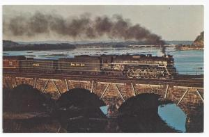 Train Railroad Postcard Nickel Plate Road No 759 Susquehanna