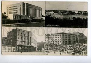 251620 FINLAND HELSINKI 1936 year multi-views photo RPPC USSR