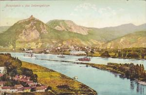 Germany Remagen Rolandseck und das Siebengebirge
