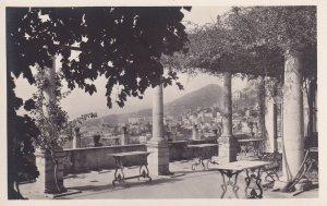 RP; TAORMINA, Sicilia, Italy, 1910-1930's; Terrazza Del L'hotel Timeo