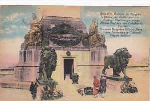 Brussels Congress Column Tomb Of The Unknown Soldier Brussels Belgium