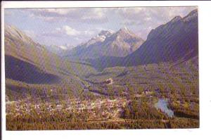 Banff from Mt Norquay, Alberta