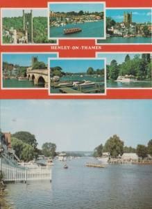 Henley Royal Regatta Course 2x Postcard