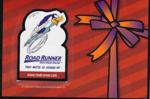 Road Runner High Speed Online, Time Warner Cable, With Magnet, 2000's