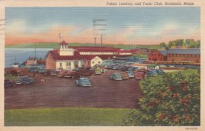 ROCKLAND, Maine, PU-1944; Public Landing and Yacht Club
