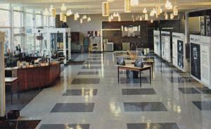 Jodrell Bank University Of Manchester 1970s Postcard