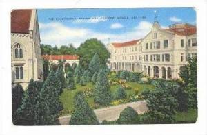 Spring Hill College, The Quadrangle,30-40s Mobile, Alabama