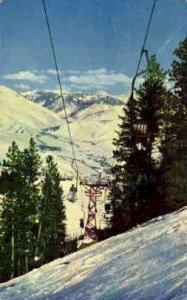 Canyon Lift - Sun Valley, Idaho ID