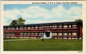 PINE BLUFF, Arkansas  AR  Agriculture Building A.M. & N. COLLEGE c1940s Postcard