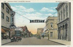 ROSEBURG, Oregon, 10-30s ; Jackson Street