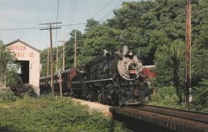 Susquehanna No. 142 - NY Susquehanna & Western Railway - Cooperstown NY New York