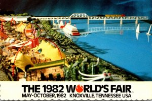 Tennessee Knoxville 1982 World's Fair Family Funfair Amusement Area