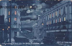 La Nuit, Rue Des Halles Centrales, ANGOULEME (Charente), France, 1900-1910s