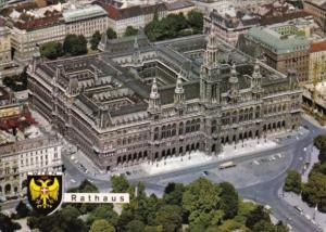 Austria Wien Vienna Rathaus Town Hall