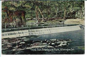Wilmington, DE - Third Dam, Brandywine Park - 1912