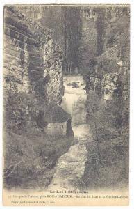 Moulin Du Saut Et La Grande Cascade, Gorges De l'Alzou, Pres Roc-Amadour (Lot...