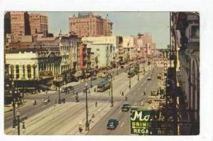 Canal Street, New Orleans, Louisiana, 40-60s