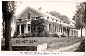 RPPC, Whitson's Old Stone House, Phelps NY #24
