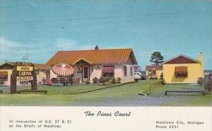 Michigan Mackinaw City The Pines Court