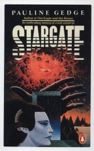 Pauline Gedge Stargate 1983 Science Fiction Book Postcard