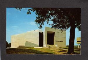 SC Greenville County Museum of Art College St South Carolina Postcard