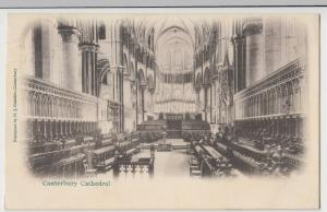 Kent; Canterbury Cathedral Interior PPC By HJ Goulden, 1904, To Simmons, Watford