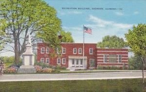 Alabama Gadsden Recreation Building