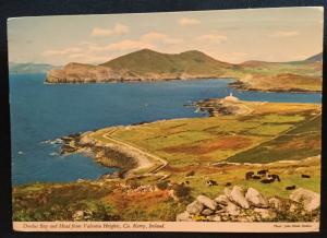 Postcard Used Doulus Bay Valentía Heights Co. Kerry Ireland LB