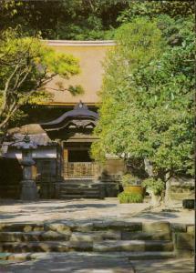 Kamakura The Engakuji temple of Zen sect Mugaku Sogen Japan