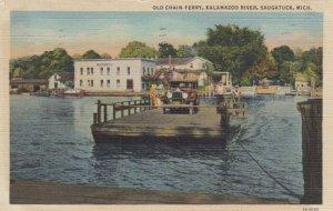 SAUGATUCK , Michigan , 30-40s ; Chain Ferry