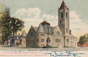 NASHUA, New Hampshire, 1906; First Congregational Church