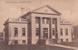 Public Library Ashtabula Ohio 1907
