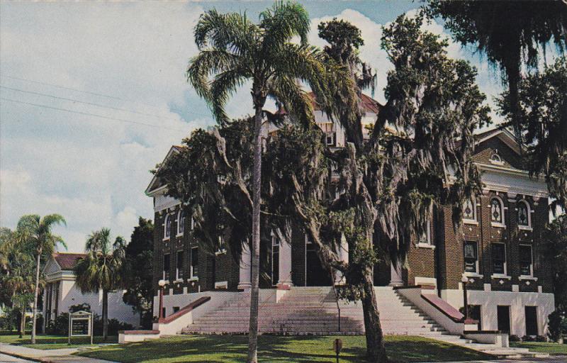 First Baptist Church , PALMETTO , Florida , 50-60s