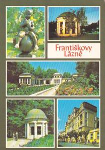 Czechoslovakia Frantiskovy Lazne okres Cheb