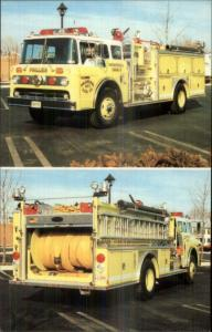 Pottstown PA Philadelphia Steam Fire Engine Co 1989 Postcard