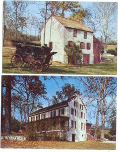 Two Cards, Hopewell Village National Historical Site, Birdsboro, PA, Chrome