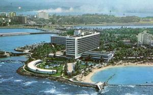 Puerto Rico - San Juan. The Caribe Hilton