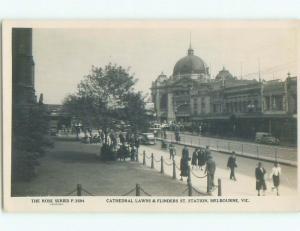 old rppc NICE VIEW Melbourne - Victoria Australia i1818