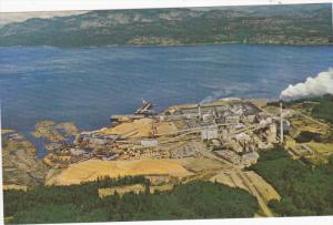 Elk Falls Pulp, Paper Mill, and Sawmill, VANCOUVER, British Columbia, Canada,...