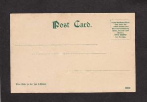 NB Harbor Boats House Campobello New Brunswick Canada Postcard Carte Postale